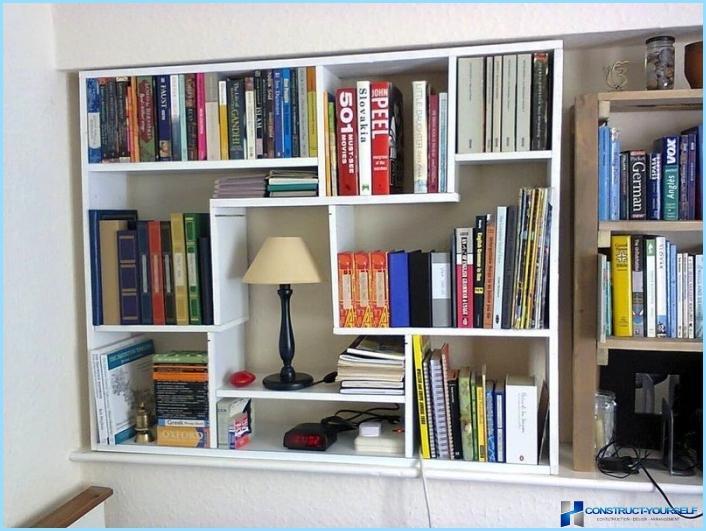 Полиці для книг