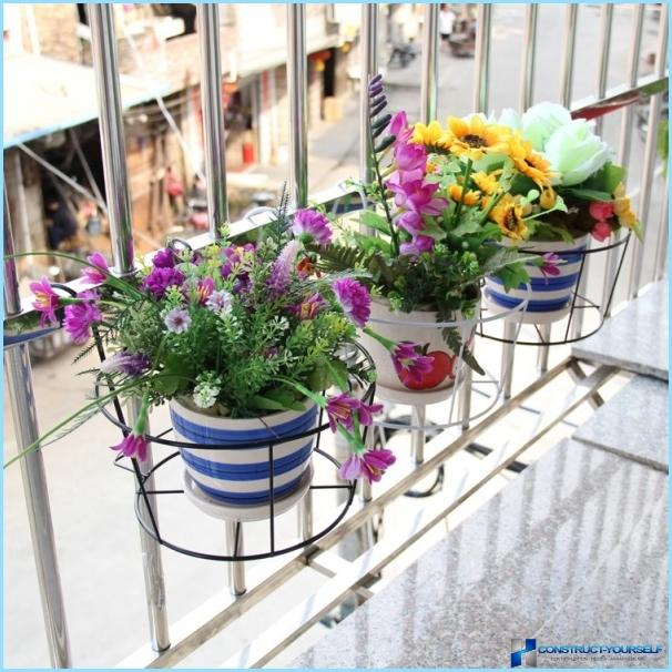 Полки для цветов + фото.