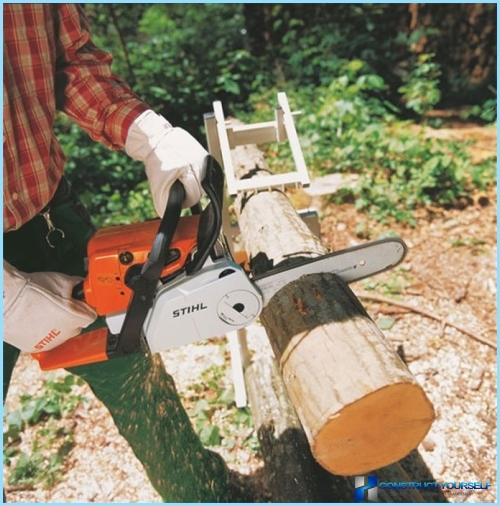 Козли для розпилювання дров своїми руками