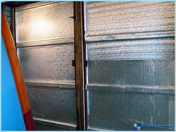 Как утеплить железный гараж изнутри