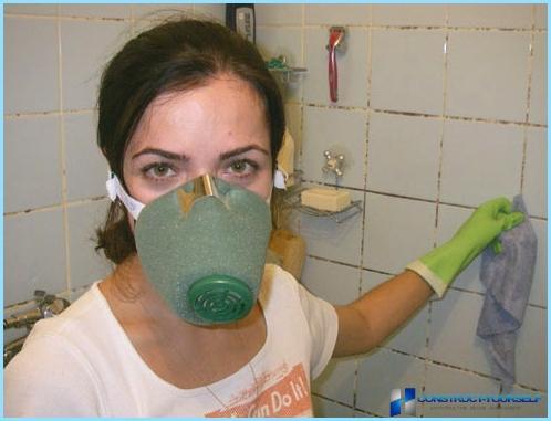 Kā atbrīvoties no pelējuma vannas istabā: līdzeklis cīņai pret