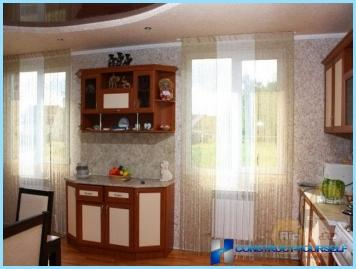 Iespējas virtuves tapetes ar fotogrāfijām