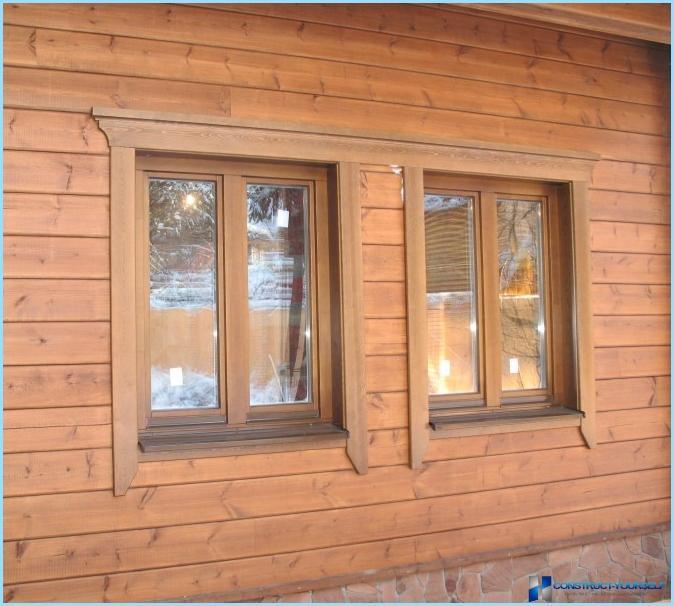 Наличник на окна в деревянном доме фото