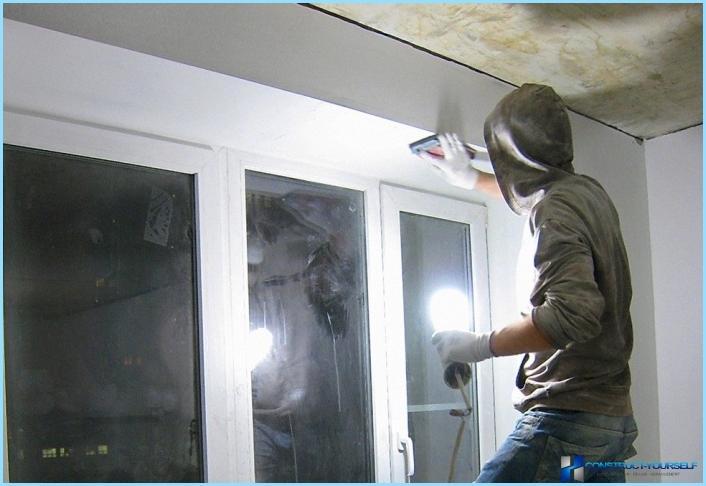 Kipsilevyn asennus ikkuna