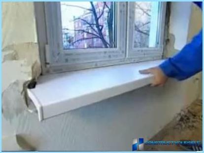 Uzstādīšana plastmasas logi ar savām rokām