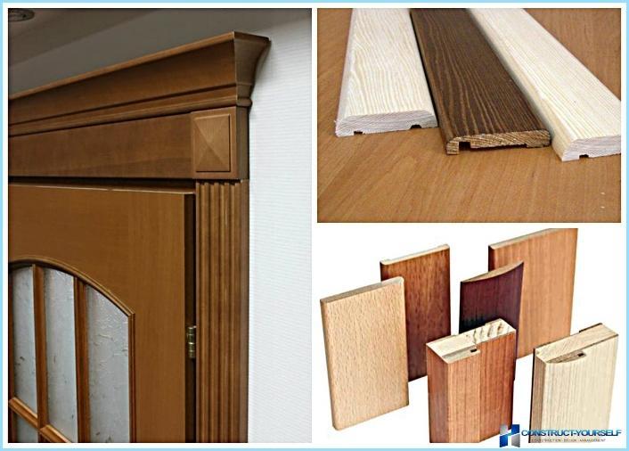 durvju apdares