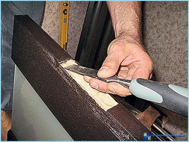 Как врезать петли на дверь своими руками 6