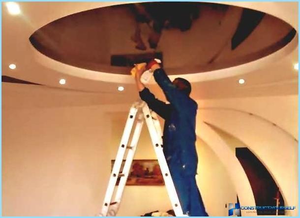Глянцевые потолки в домашних условиях 277