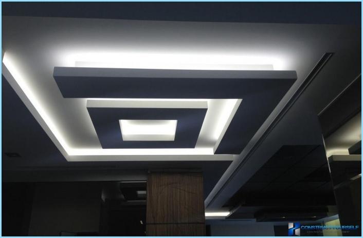 tecto falso diode backlight