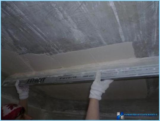 Kā tepe drywall zem tapetes un krāsas