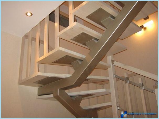 Kā veikt metāla kāpnes ar savām rokām