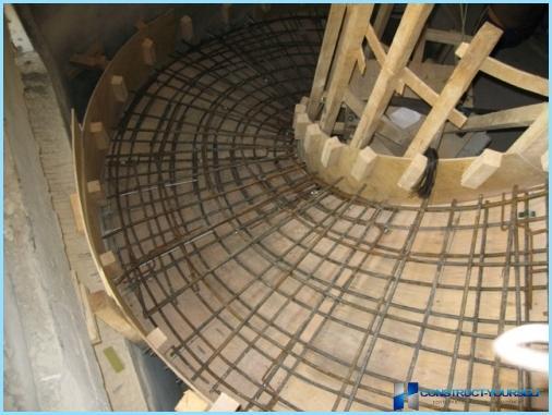 Veidņi betona kāpnēm