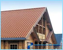 The device gable mansard roof