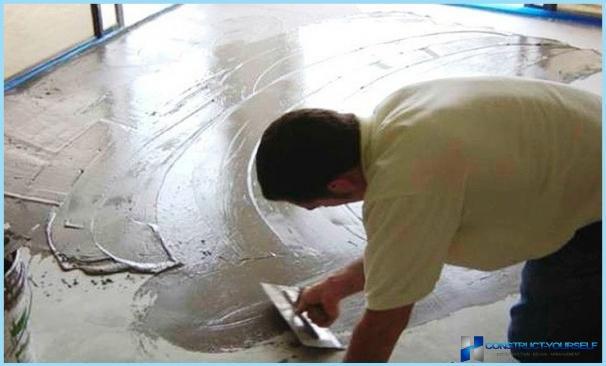 Гладкий бетонный пол своими руками