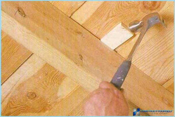 Как сделать чтобы деревянные полы не скрипели