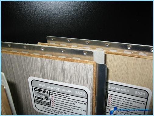 Quali pavimenti in laminato può essere posato su riscaldamento a