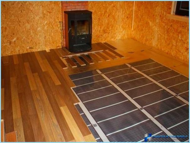 Как сделать теплый пол под ламинат в квартире