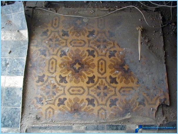 Hvordan fjerne gammel linoleum