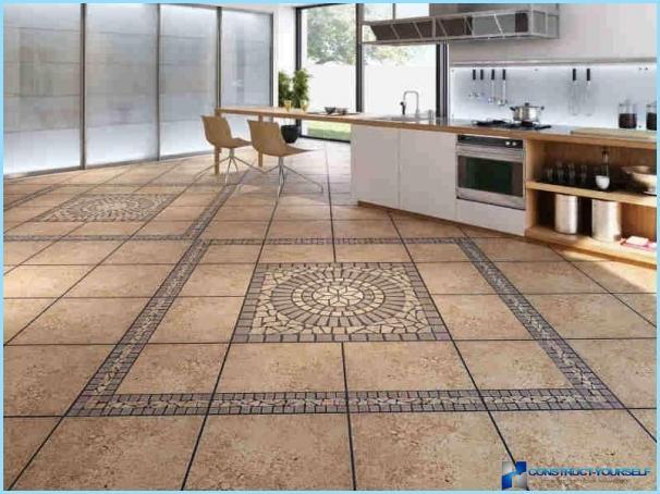 Pavimenti in cucina