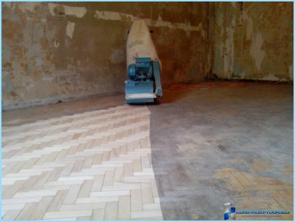 Kā un ko nokrāsot grīdu