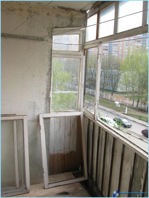 Ремонт балкона без остекления..