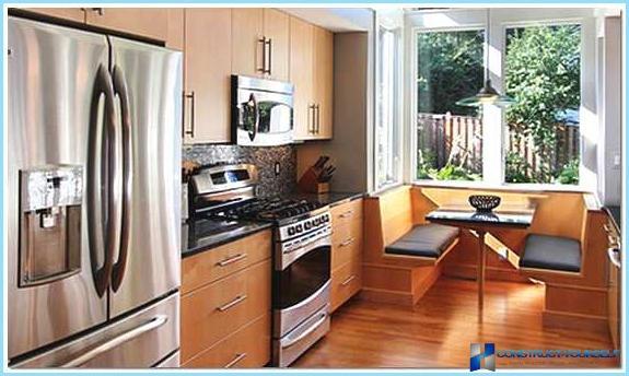 Design loggia with kitchen + photos.