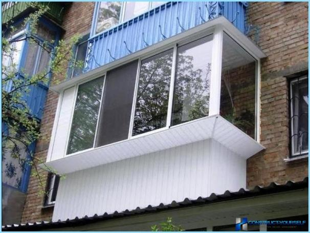 Nas?l kucuk bir balkon donatmak icin kruscev: fikirler + fot.