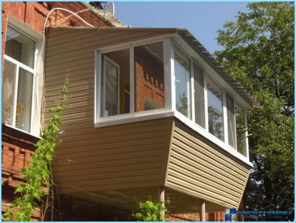 Kā izolēt balkons pieder