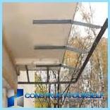 Увеличение и остекление балкона с выносом в казани. увеличен.