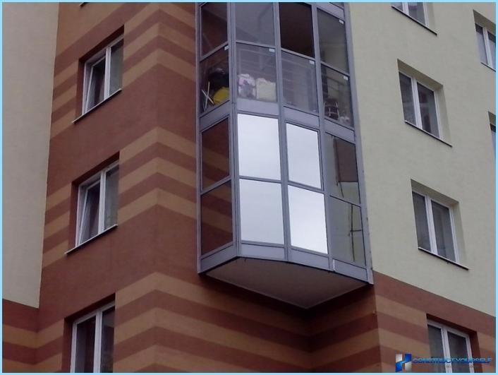 Tonizējoša balkoni un lodžijas
