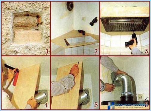 Kā uzstādīt kapuci pār gāzes plīts