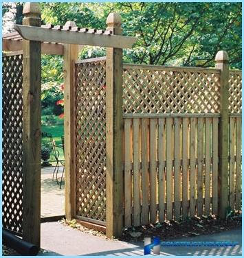 Забор штакетник своими руками