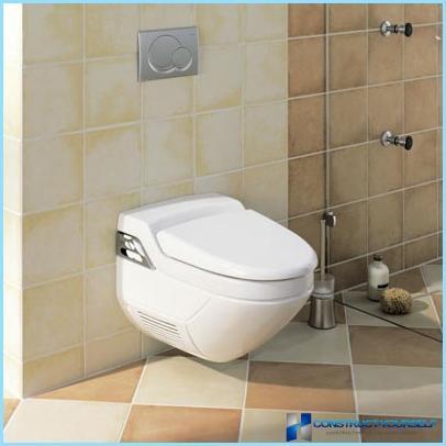 Appeso WC con funzione bidet