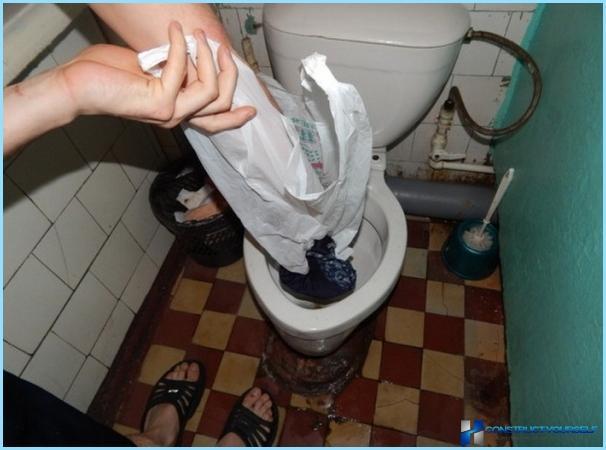 Kā noteikt aizsērējusi tualete