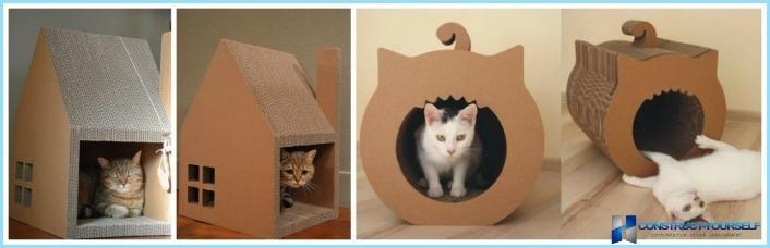 отличную квартиру домик для кошек из коробок руководство (Близнецы