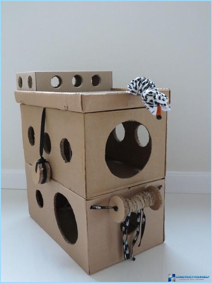 Как сделать мебель для кошек  diyru