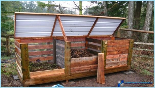 varianten zur herstellung der kompost grube im land mit ihren eigenen h nden fotos. Black Bedroom Furniture Sets. Home Design Ideas