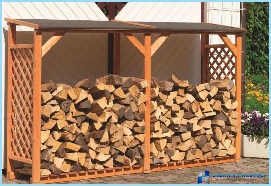 Как сделать дровяник своими руками - 33 фото 88