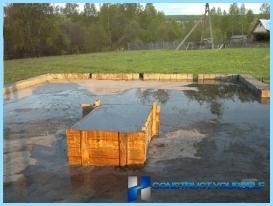 Projekti vanna ar bēniņiem, lapene, terase