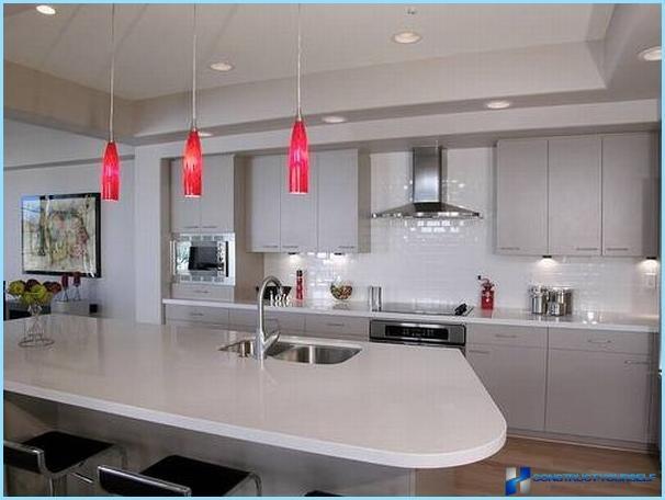 wie beleuchtung f r ihren schreibtisch in der k che fotos zu w hlen. Black Bedroom Furniture Sets. Home Design Ideas