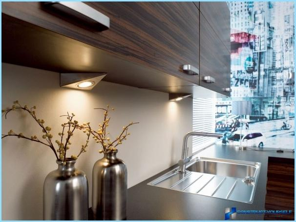 furniture fixtures for the kitchen cabinets on