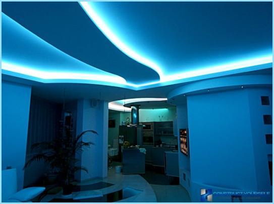 led beleuchtung in der wohnung vor und nachteile. Black Bedroom Furniture Sets. Home Design Ideas