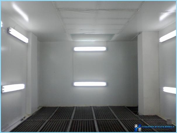 Led panel garasje
