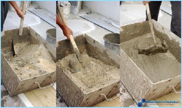 Раствор для кладки камня своими руками