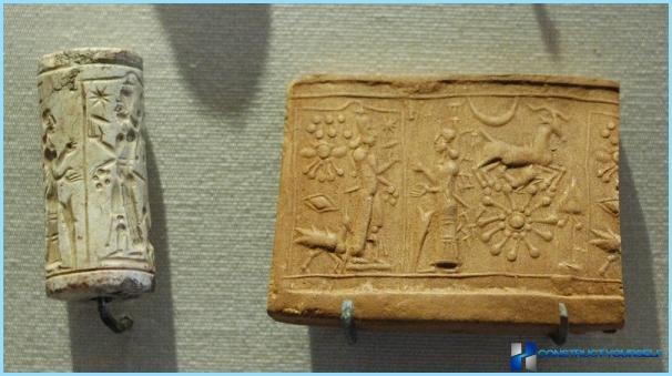 Gypsum decorative stone for interior decoration