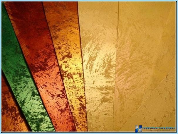 Pittura Pareti Effetto Seta : Pittura effetto metallizzato per interni