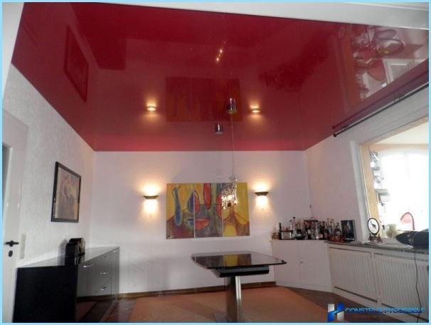 Spīdīgs krāsa sienām un griestiem izgatavots no ģipškartona, plastmasas, koka