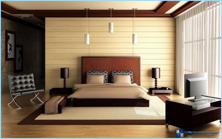 Інтер'єр спальні в сучасному стилі