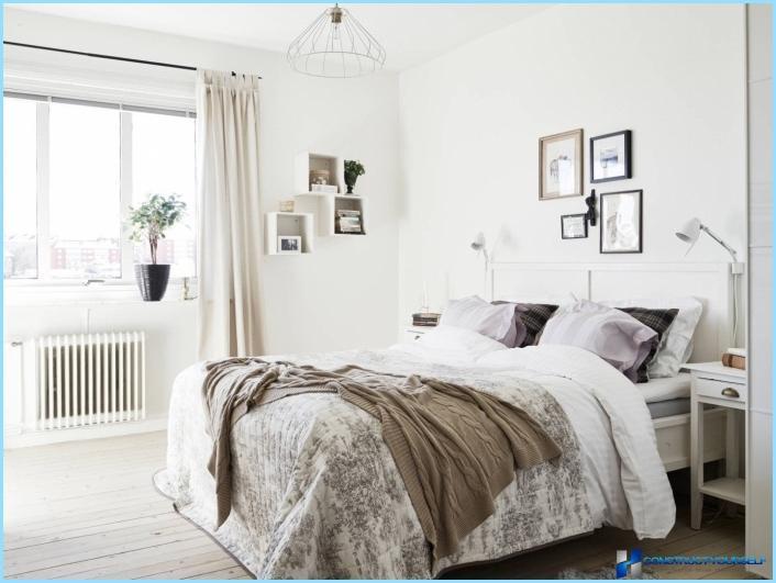 Slaapkamers in Scandinavische stijl