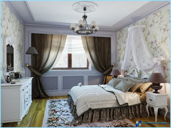La camera da letto in stile provenzale + foto